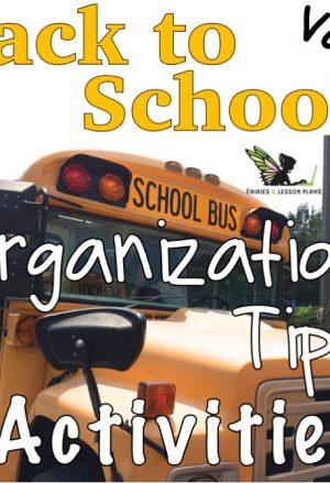 First week of school tips