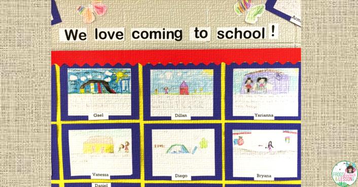 first week of school ideas for a bulletin board