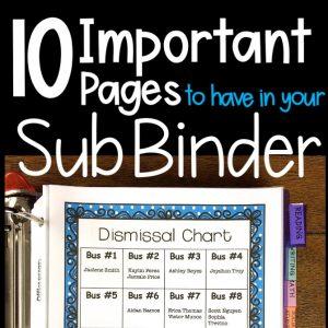 Substitute Binders