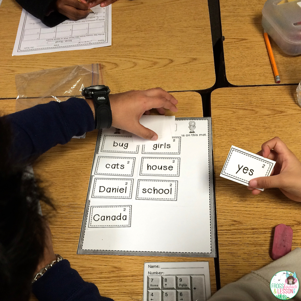 Group activity for nouns