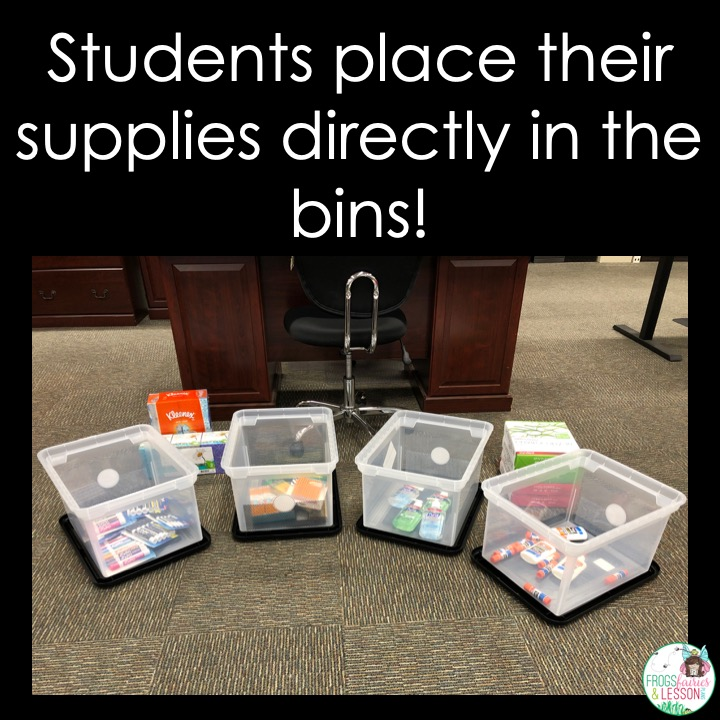 Collecting Supplies during Back to School