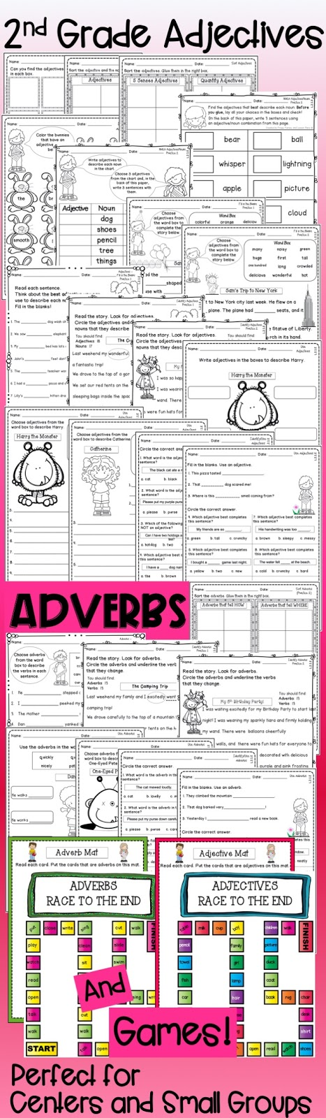 Adjective and Adverb Resources