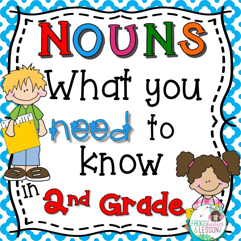 2nd Grade Noun Activities