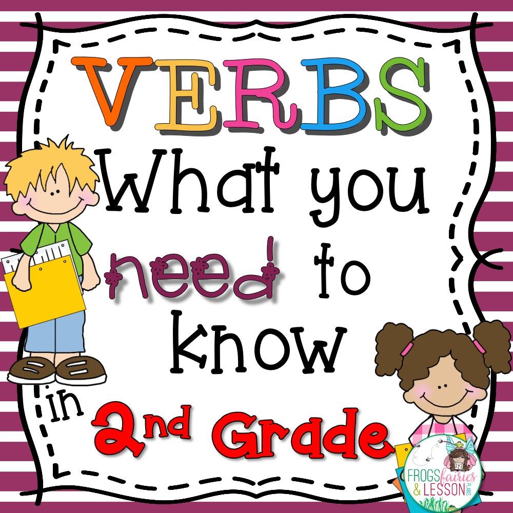 2nd Grade Verb Activities