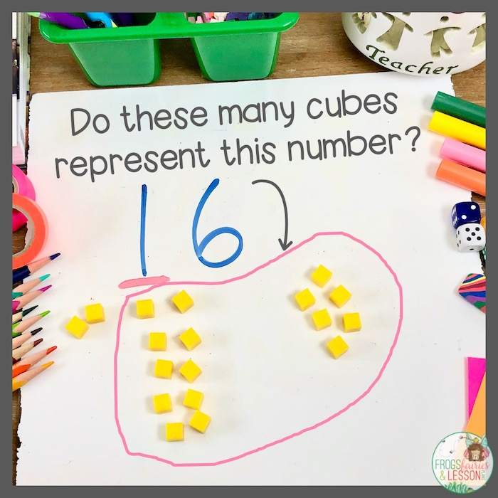 1st Grade Place Value Activity using base ten blocks with first graders.