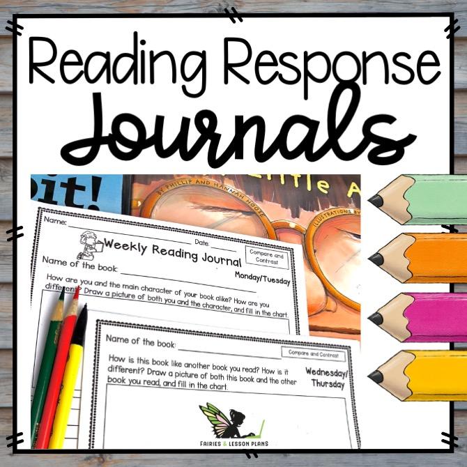 Reading Response Journal Templates